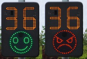 Image result for speed indicator device