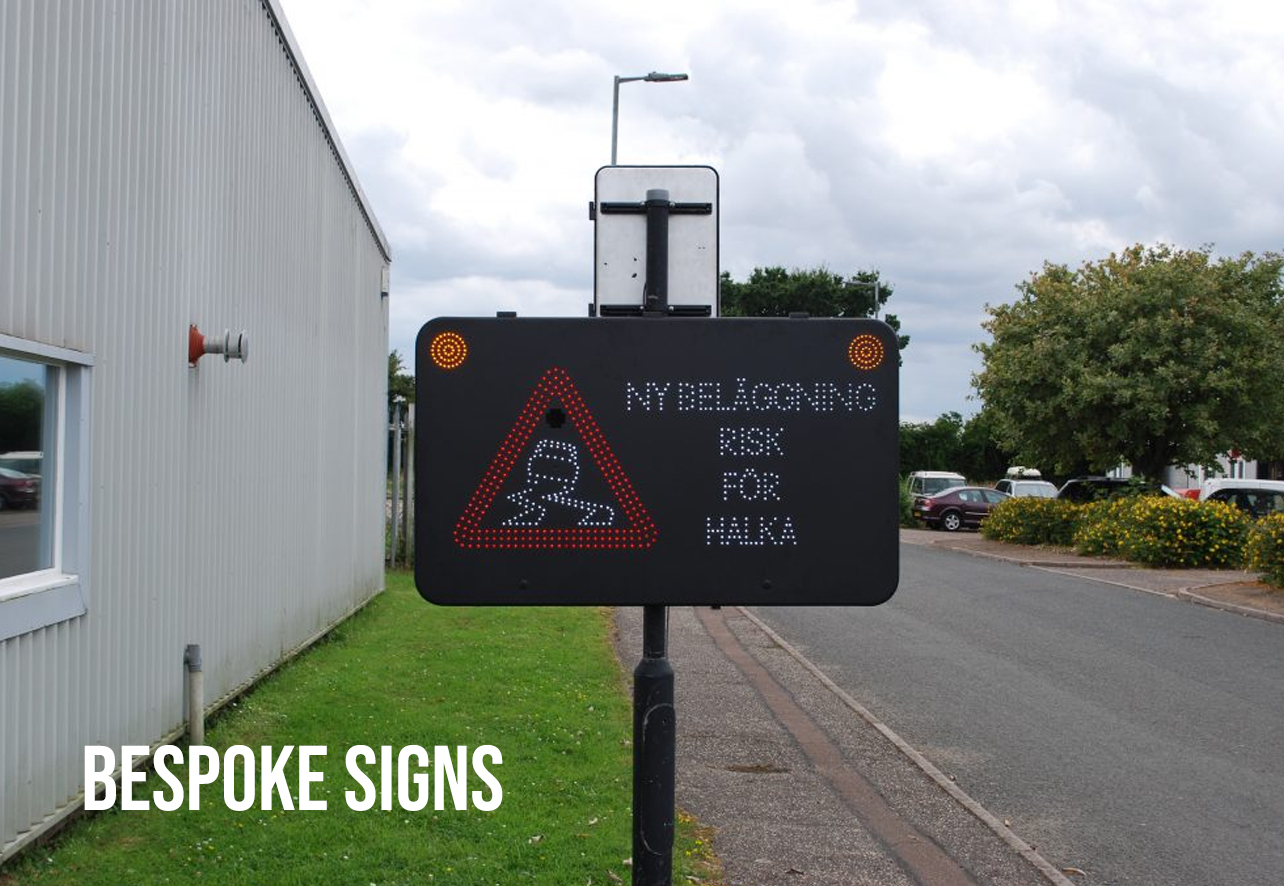 bespoke warning signs