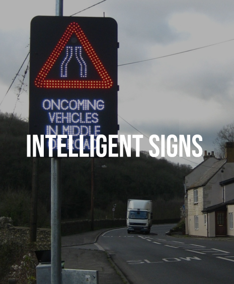 INTELLIGENT Speed signs